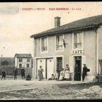 Les Charmilles - Le café au début du siècle