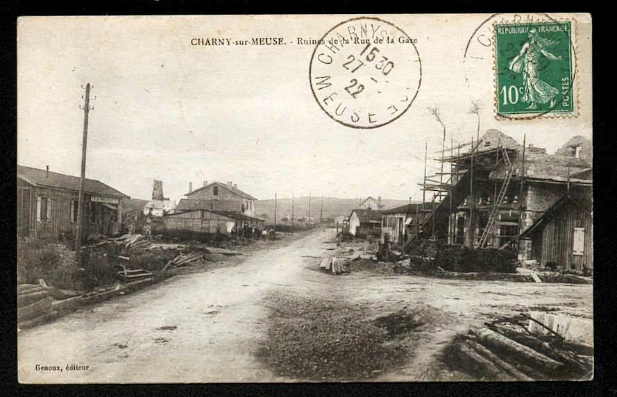 Batîment provisoire après la Première Guerre Mondiale
