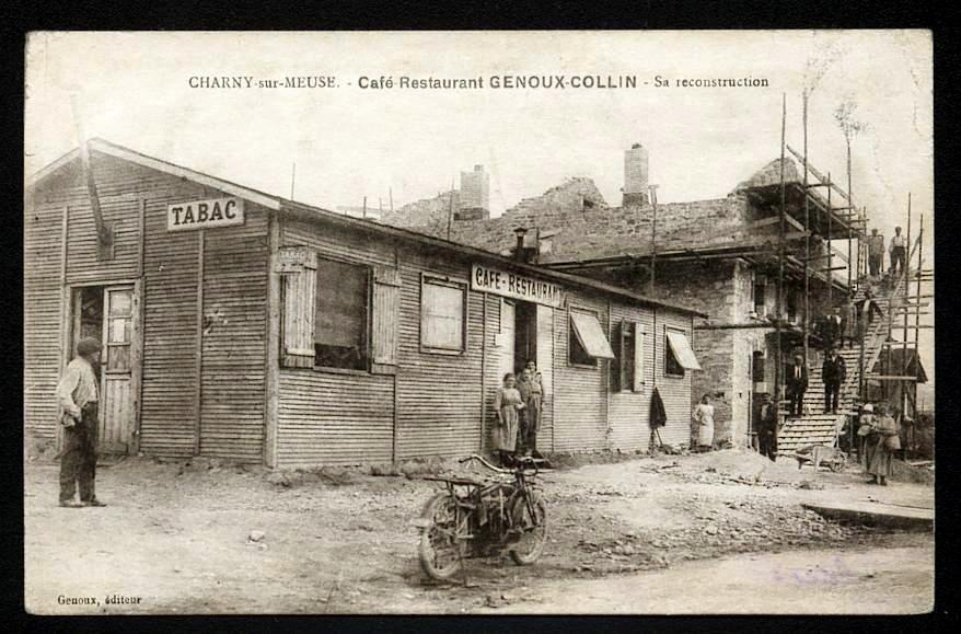Ancien café du village de Charny-sur-Meuse
