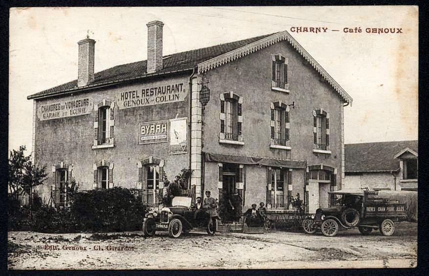 Les Charmilles autrefois - Hébergement près de Verdun