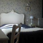 Chambre bleue - Les Charmilles